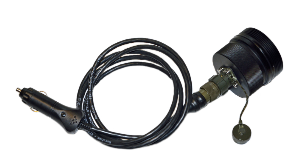 External adaptor for car with cig plug (12V)